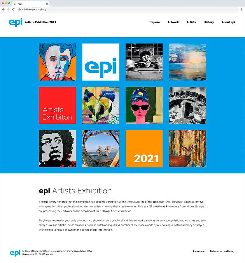 epi Artist Exhibition